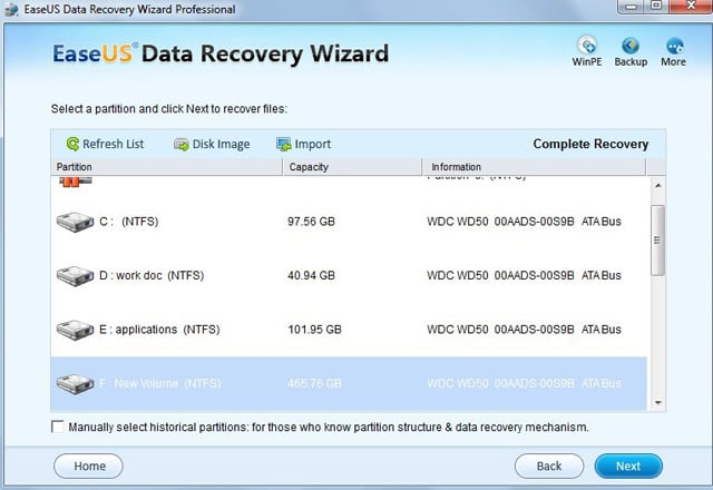 recover files from dynamic disk