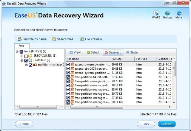 Recover Encrypted file/folder on NTFS Drive