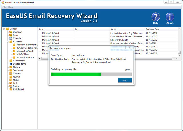 How to recover shift deleted emails from outlook 2010, 2007, 2003 ...