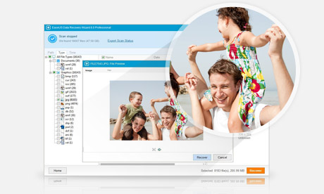 EaseUS Data Recovery Wizard Free Edition full screenshot