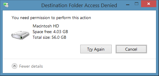 Fix It Now! Destination Folder Access Denied in Windows 10/8