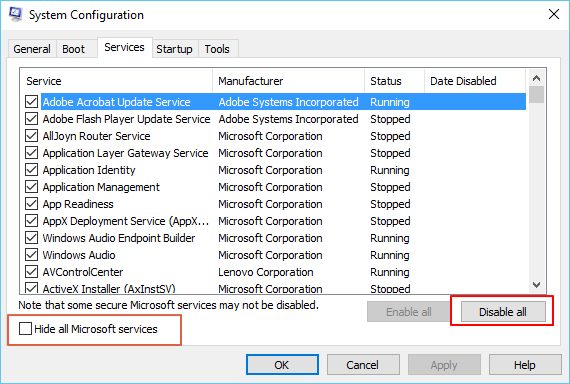 Update drivers to remove blue screen error.