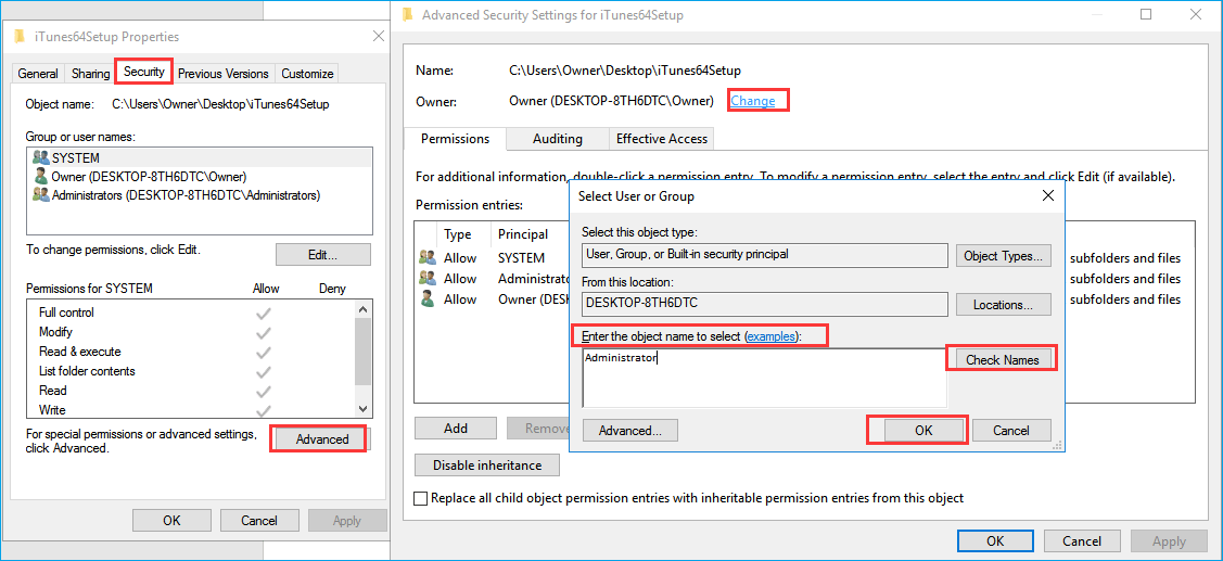 take ownership of access denied folder on wd my passport