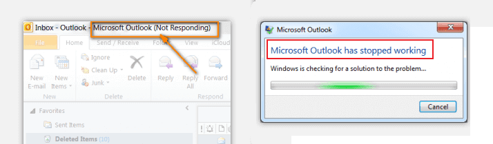 Solve Outlook 2016 Not Responding Error in Windows 10 – EaseUS
