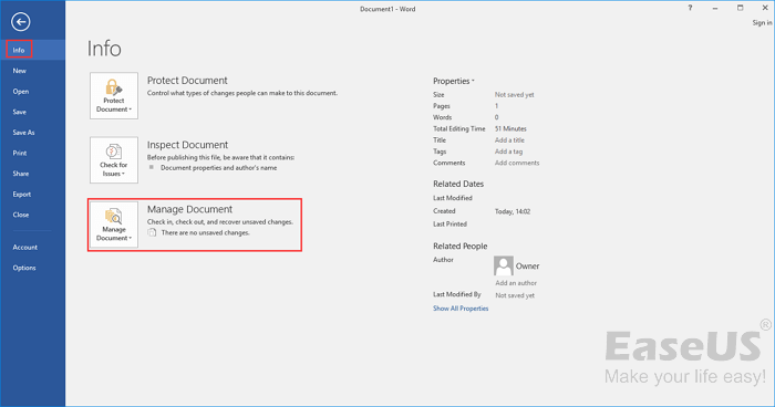 3 Ways to Recover Unsaved/Deleted Word Document Windows 10