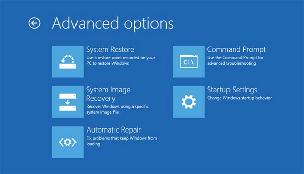 Undo System Restore in Windows 8.