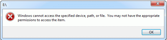 2019 Fix: Windows Cannot Access the Specified Device Path or