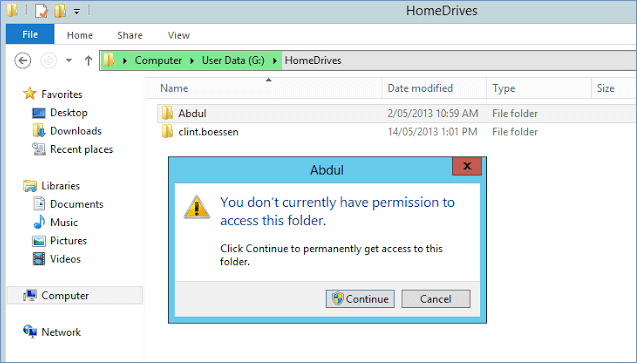 You Don't Currently Have Permission to Access This Folder - EaseUS