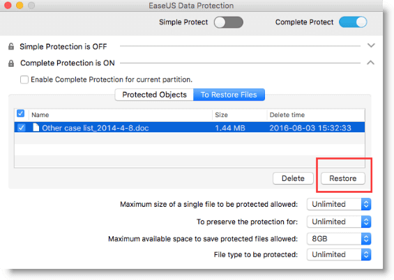 how to save protected images on mac