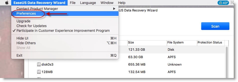 easeus data recovery wizard mac serial