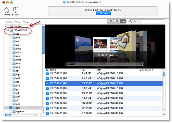 mac data recovery manul17