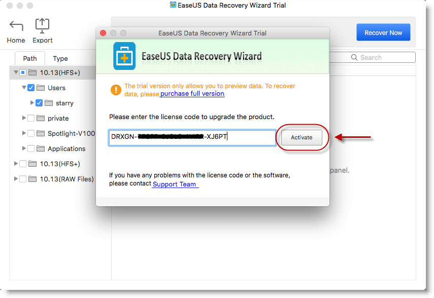 Free Mac Data Recovery License Code Key Registration Code Serial Number