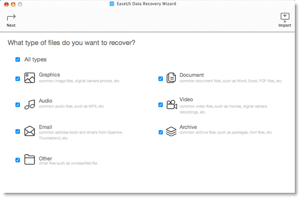 How To Recover Lost Data On Mac with EaseUS Data Recovery Wizard Serial Number