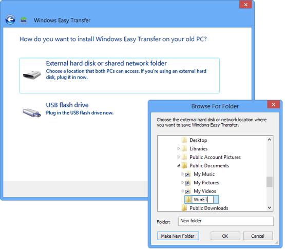 Easy Transfer Windows 10