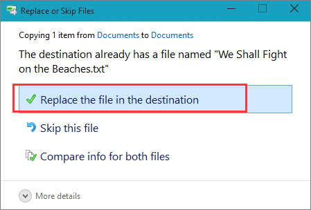 Undo permanent file deletion for free in Windows 10 with File History.