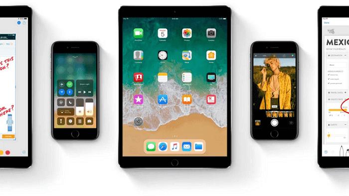 Atualização do iOS 11 no iPhone/iPad/iPod