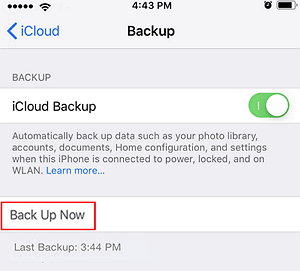 How to Fix iCloud Backup Greyed Out (iOS 12 Supported) - EaseUS