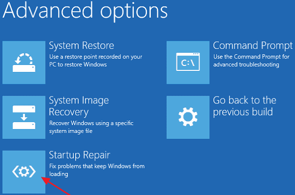 Fix 'restoring your previous of Windows' error on WIndows 10.