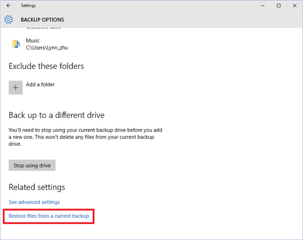 Extract and Restore Specific/Individual Files from Windows