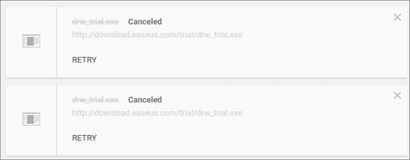 continue canceled chrome downloads