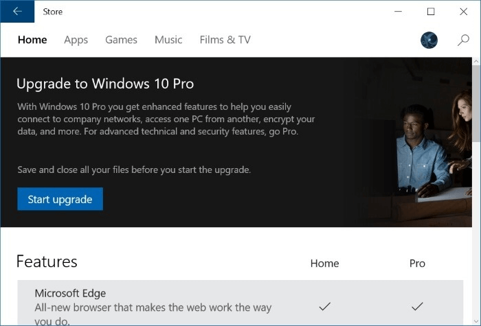 Two Free Methods to Upgrade Windows 10 from Home to Pro