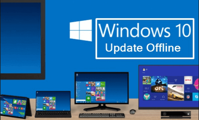 Offline update Windows 10.