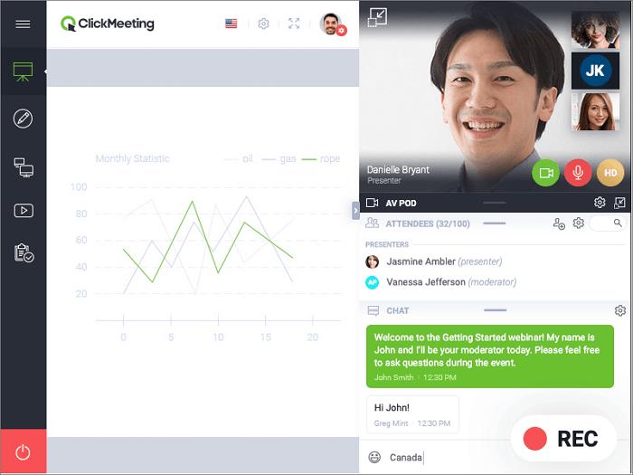 Full Guide How to Record a ClickMeeting Webinar - EaseUS