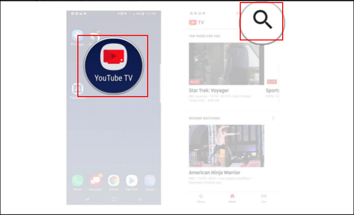 record youtube tv 1