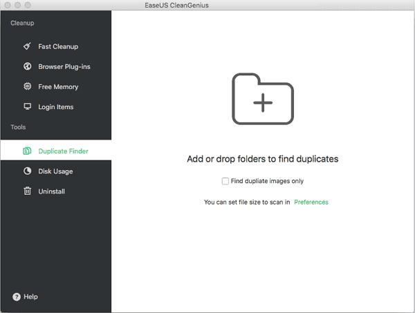 find duplicate files free mac