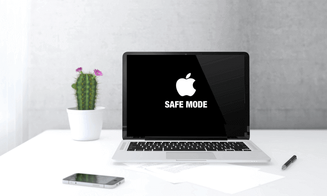 enter mac safe mode to fix the not startup problem