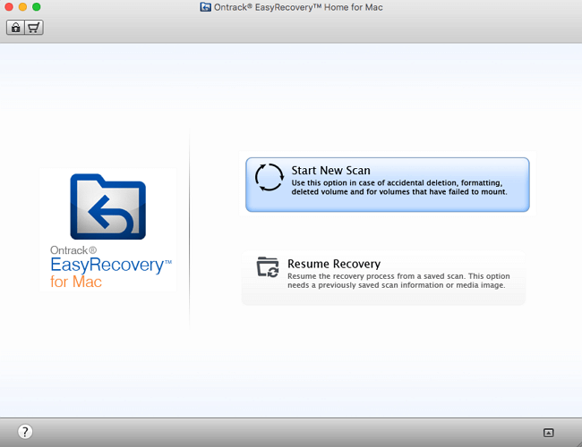 Top 5 - Ontrack EasyRecovery for Mac
