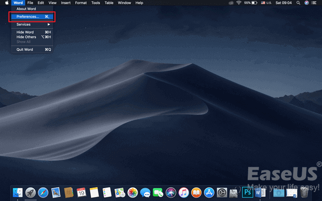 3 Solutions] Fix Word Not Opening on Mac - EaseUS