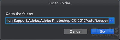 How to Recover Unsaved or Lost Photoshop Files on Mac? - EaseUS