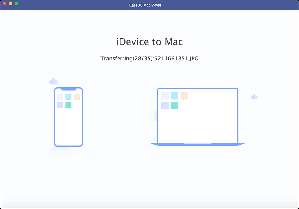 how to transfer files from iDevice to Mac - step 4