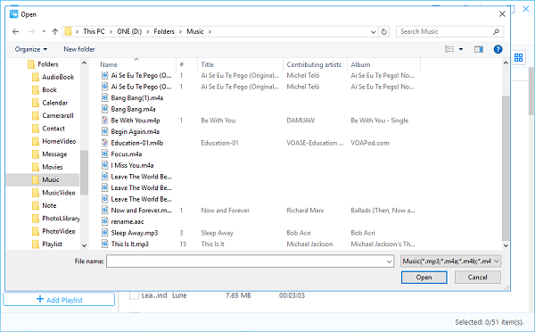 how to use itunes to put music on iphone