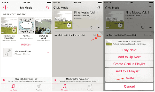 3 Tips to Delete Songs from iPod or iPod Touch Easily and