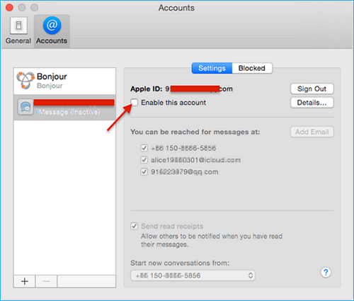 How to Turn on iMessage on Mac Air/Pro - EaseUS