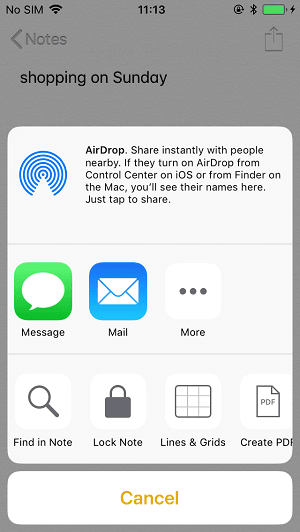 airdrop-notes-iphone-to-mac