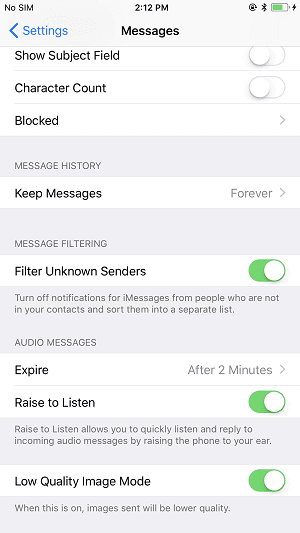 how to block text messages on iphone detailed guide 4 ways to block text messages on iphone 8 19861