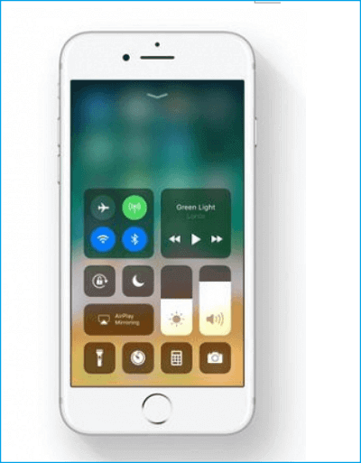 customize the control center
