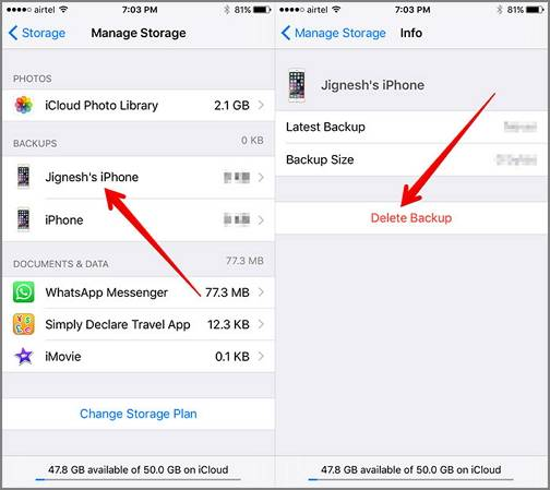 How To Backup Photos From Iphone To Icloud >> How To Access Icloud Backup Files On Iphone Mac And Windows Easeus