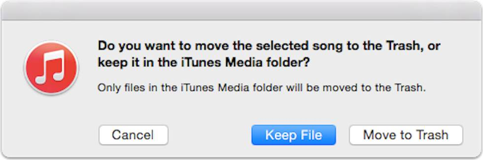 How to delete songs from iTunes