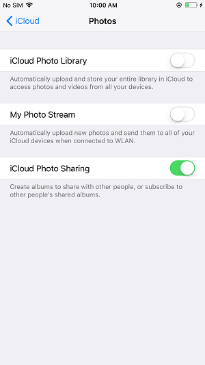 How to download photos to new iphone from icloud