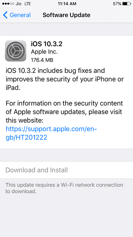 Install iOS 10.3.2 on iPhone/iPad/iPod Touch