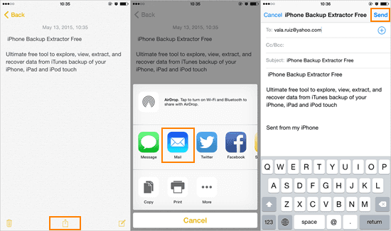 4 free methods to back up notes from iphone to pc easeus.