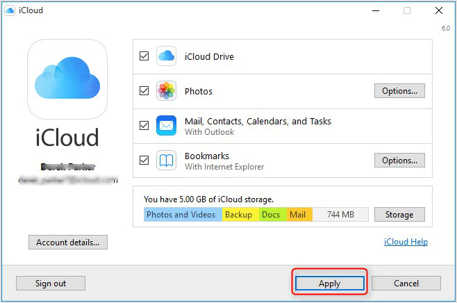 can i download icloud on windows vista