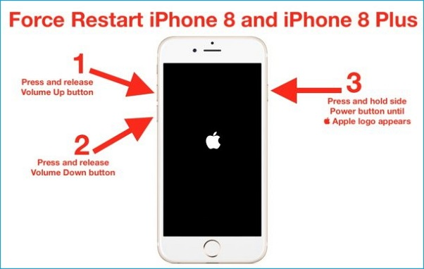 how to force iphone turn on