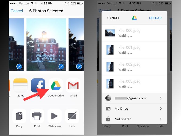 google drive for iphone detailed guide how to back up iphone photos with 5505