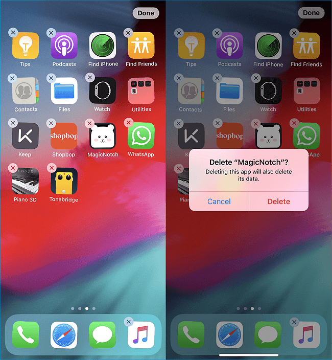 iOS 12] How to Delete Apps on iPhone XS/XS Max/XR - EaseUS
