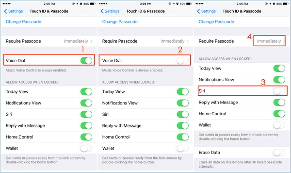iphone turn off voice control 2 ways to turn voice on iphone x 8 8 1353
